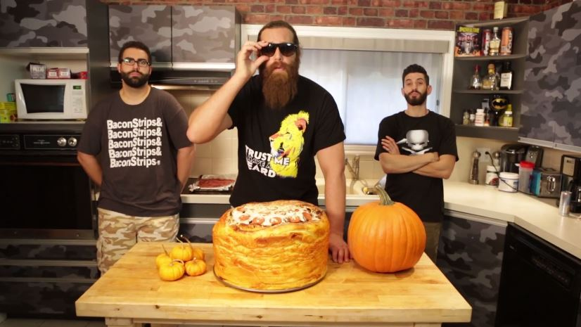 epic pumpkin spice pizza
