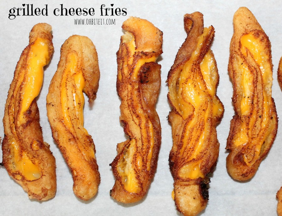 Grilled Cheese Fries Turn Your Sandwich Into a Cheesy Appetizer