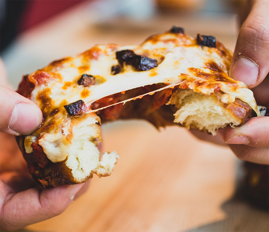 recipe: pizza dough doughnuts [9]