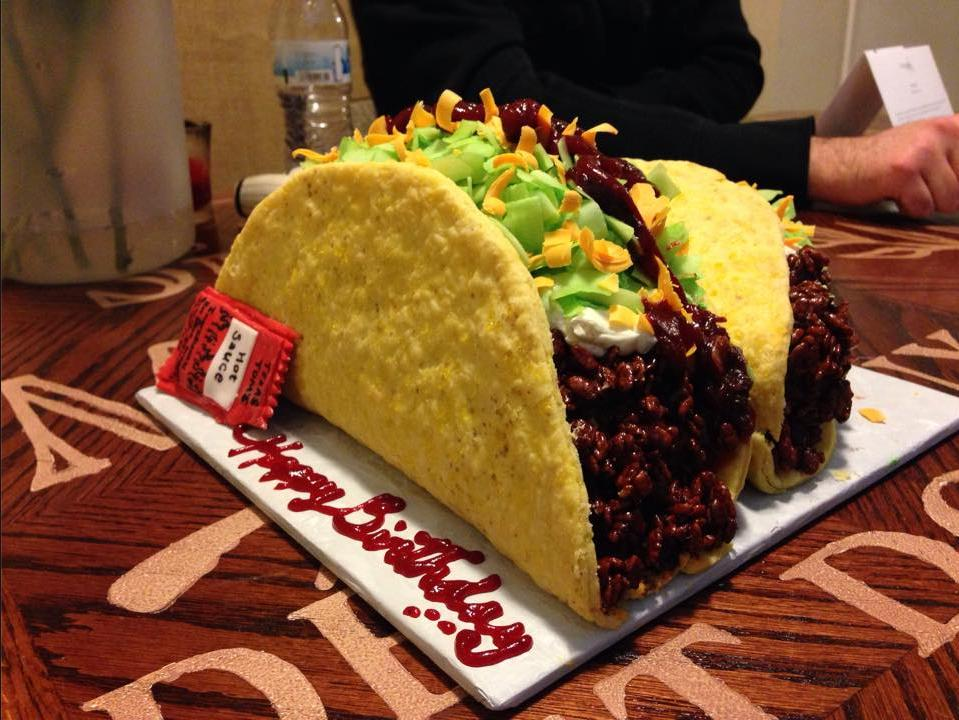 Birthday Cake And Tacos