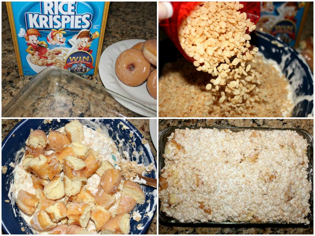 Rice krispies kreme