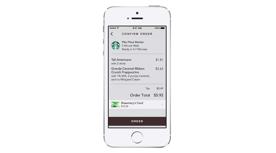Starbucks-Pay-Order-App