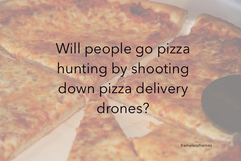 pizza drones