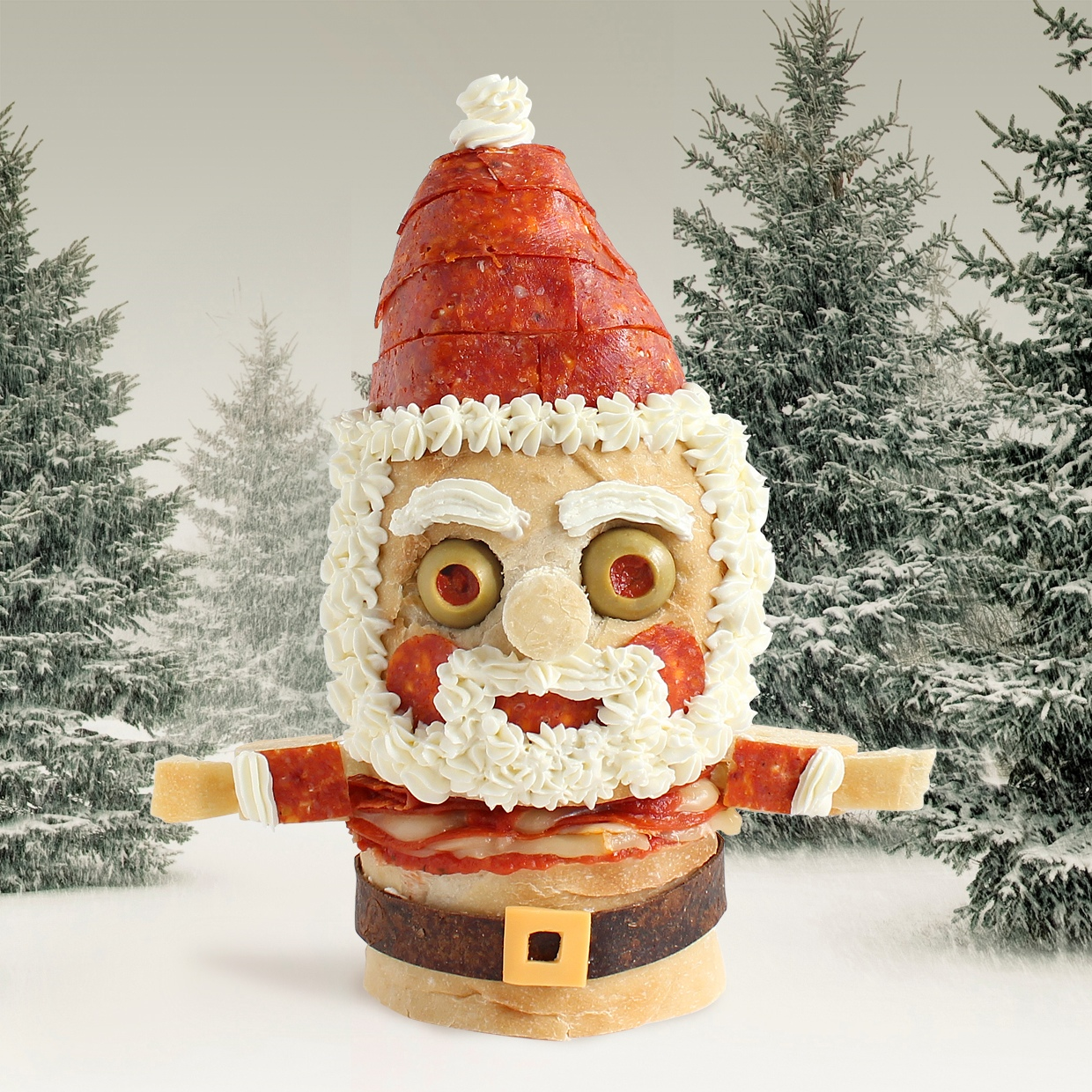 Let us bring some creepy, Christmas joy your way with some monsters ...