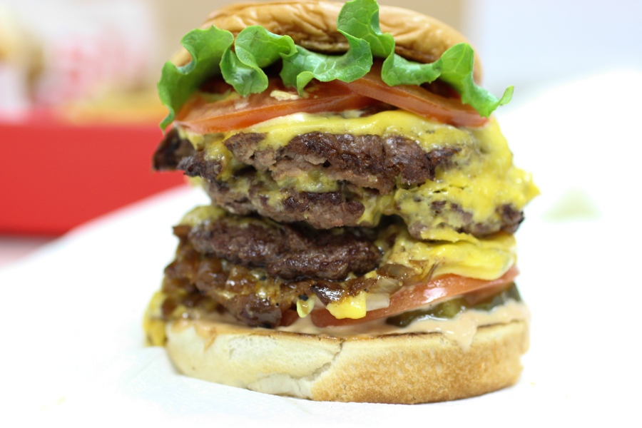 double shake shack burger double-double in-n-out innout
