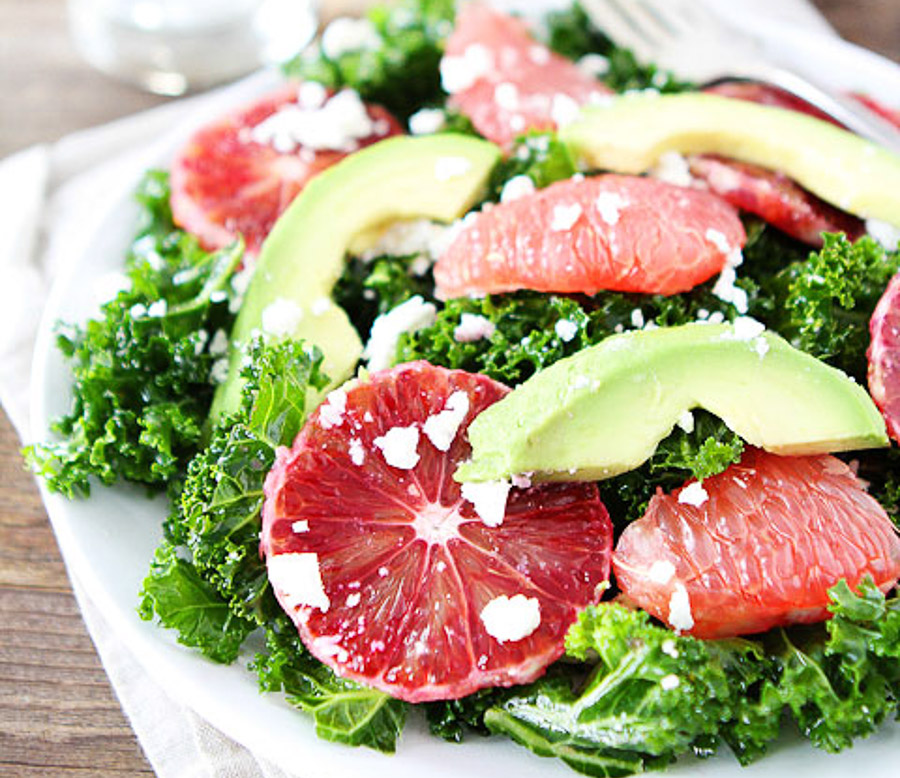 Grapefruit Kale Salad-11
