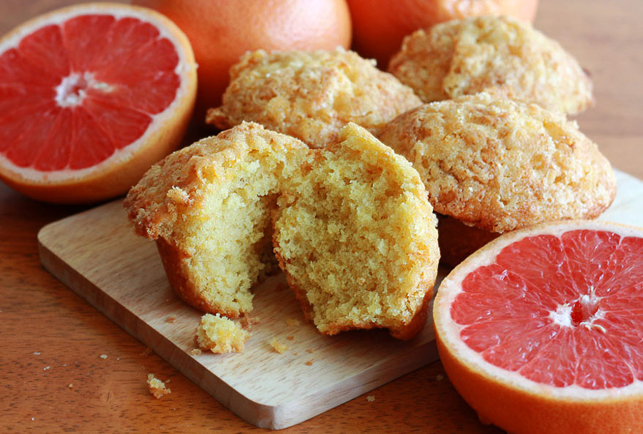 Grapefruit Muffins-1