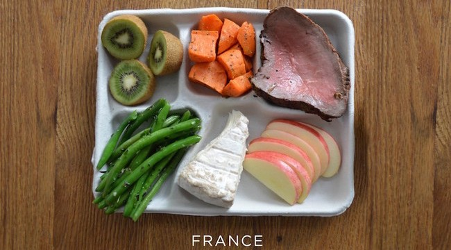 School Cafeteria Lunches From Around the World