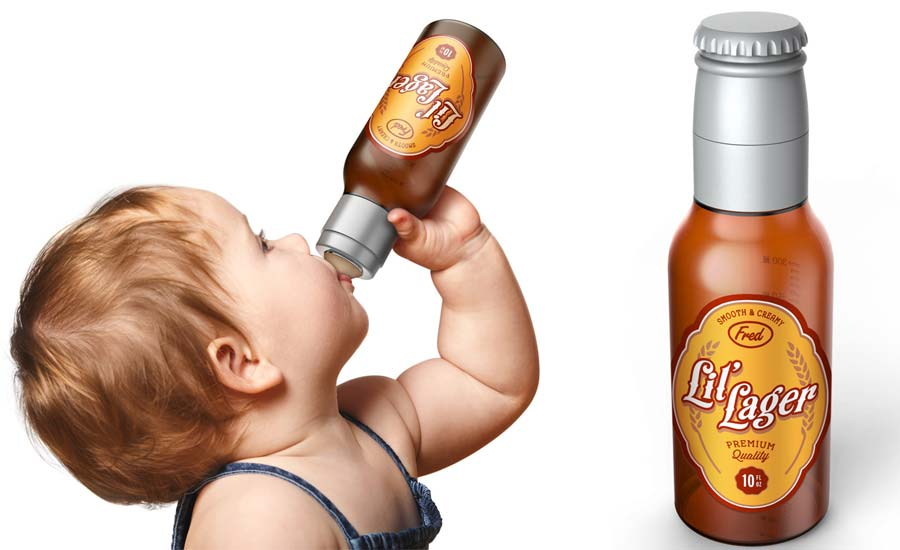 These Baby Beer Bottles Will Let Tykes Kick Back Their