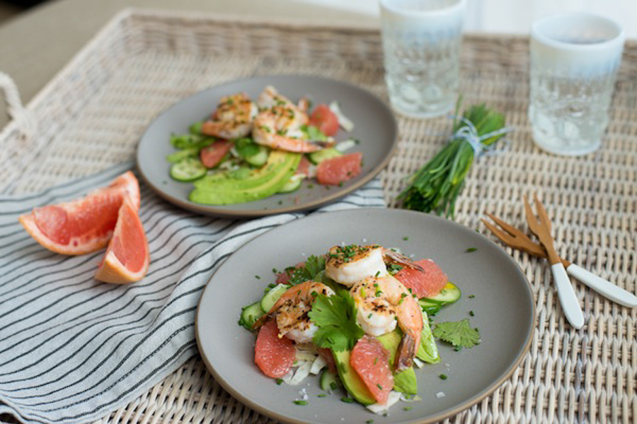 Shrimp Citrus Salad-2