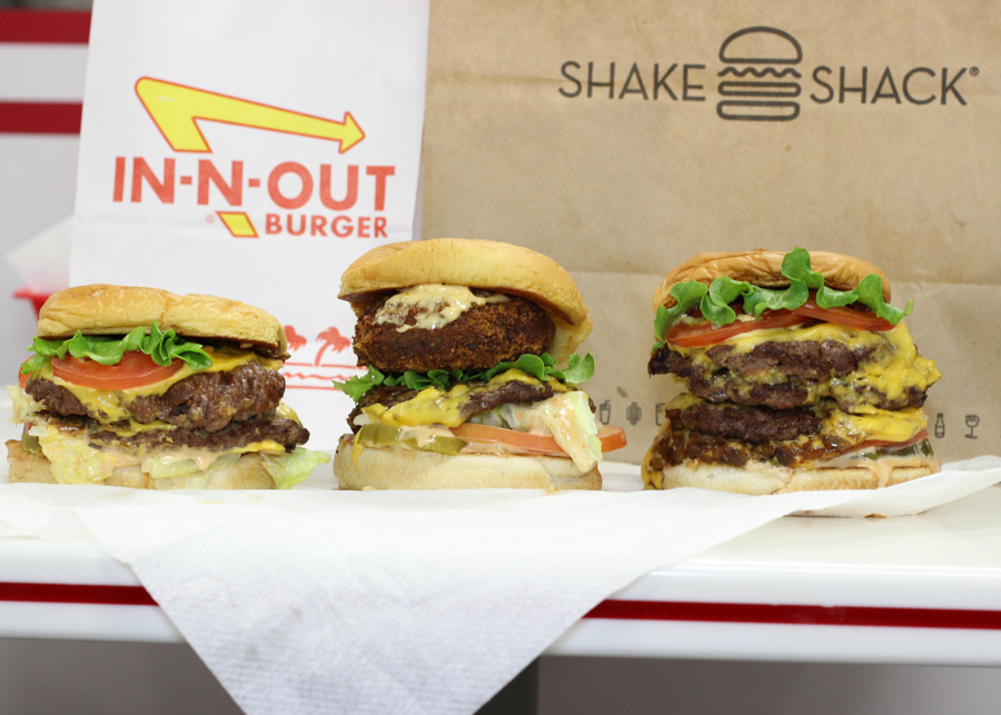 We Combined Shake Shack and In-N-Out Burgers in the Single Place They Coexist
