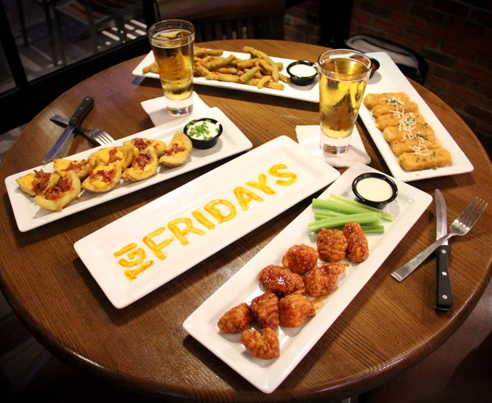 For $12 You Can Eat ANY TGI Friday's Appetizer, As Many Times As You
