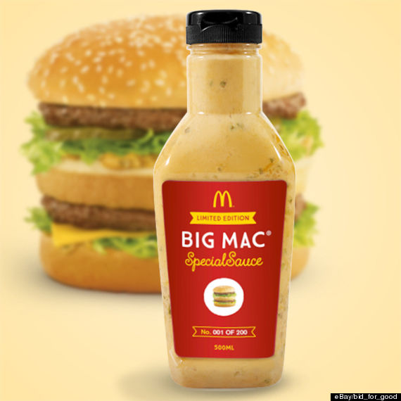 up and started charging extra for a side of its Big Mac Special Sauce ...