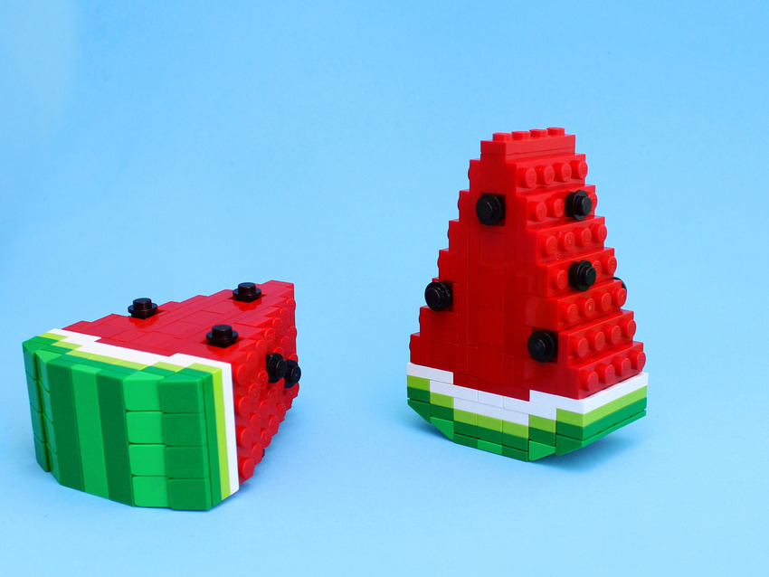 Easy Lego Creations >> Gorgeous Food Art Made Out Of Legos