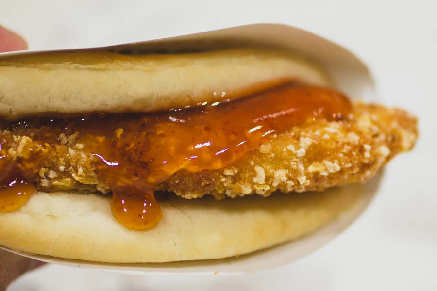 EXCLUSIVE PHOTOS: Taco Bell Just Released Tortilla-Fried Chicken, Served In A Biscuit Taco
