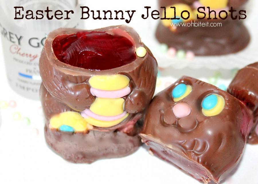 How To Make Chocolate Bunny Jello Shots This Easter