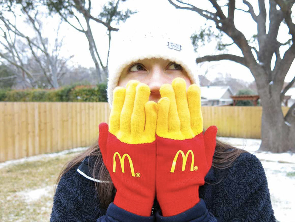 These French Fry Gloves Make Your Fingers Look Like Fries