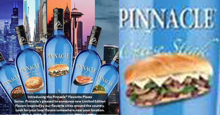 These Are The Ridiculously Fake Vodka Flavors Pinnacle Will Try To Fool You With
