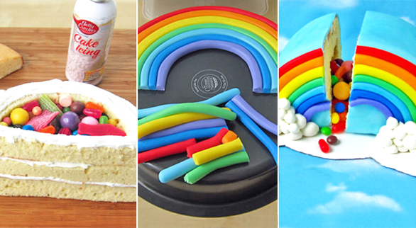 20 Psychedelic Rainbow Desserts You Can Make On Your Own