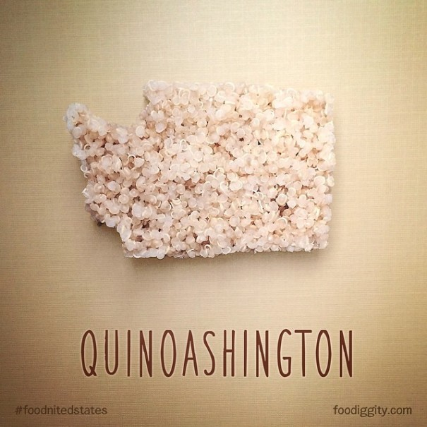 Father-Son Duo Create US Map With Punny Food Names