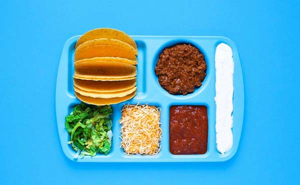 Photographer Turns Dull, Deconstructed Lunches Into Colorful Works Of Art