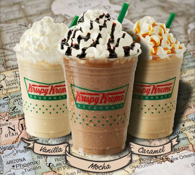 Kripsy Kreme Introduces New Frozen Lattes To Pair With Your Fluffy Donuts