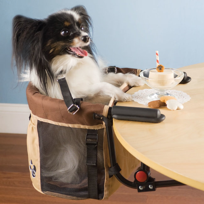 Charmant Finally, All You Crazy Dog Lovers Have A Way To Properly Eat With Your Pet  At The Dinner Table. For Yearu0027s Weu0027ve Had To Drop Leftovers Under The Table  While ...