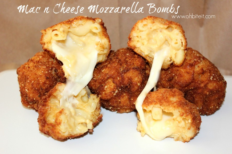 These Mac & Cheese Bombs Are Like Mozzarella Sticks On Steroids