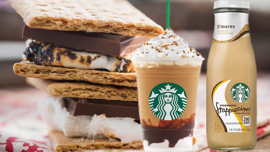 Starbucks Unleashes New S'More-Flavored Frappuccino