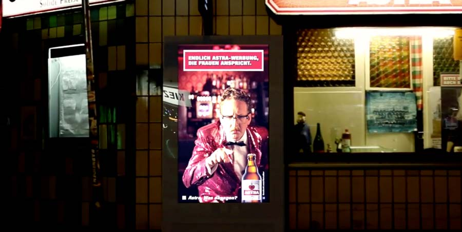 This Billboard Uses Gender Detection To Only Promote Beer To Women