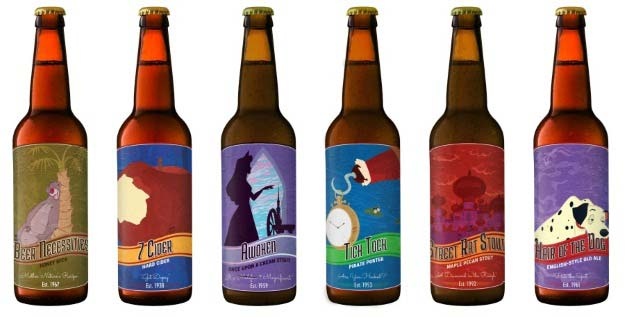 These Printable Disney-Themed Beer Labels Are Enchantingly Hilarious