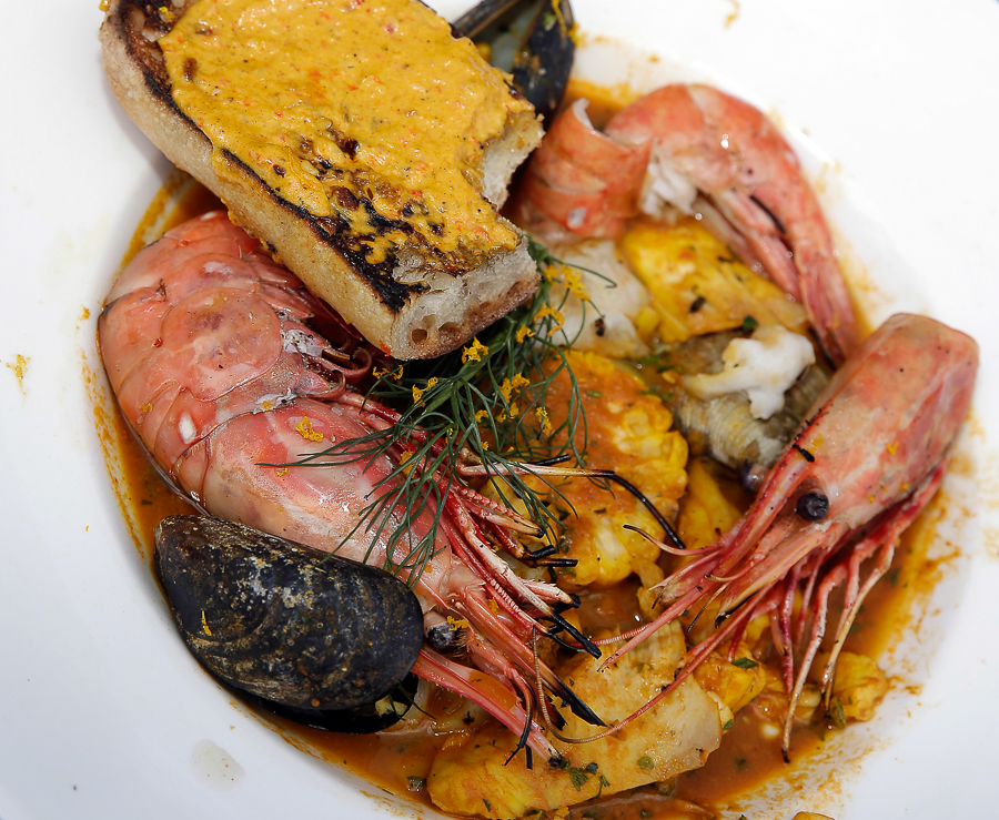 emeril lagasse black garlic lemongrass bouillabaisse