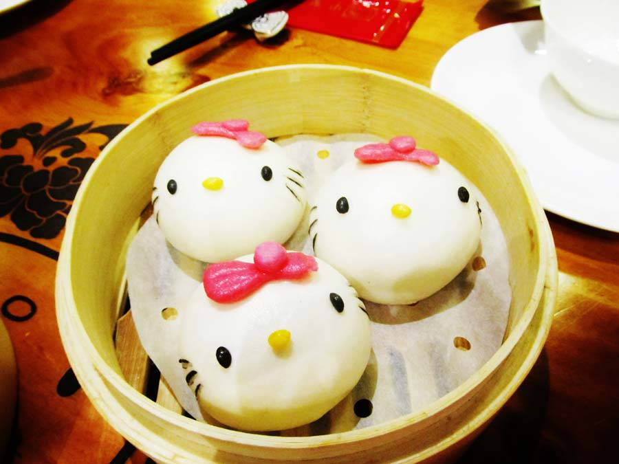 This Restaurant Serves Hello Kitty Dim Sum