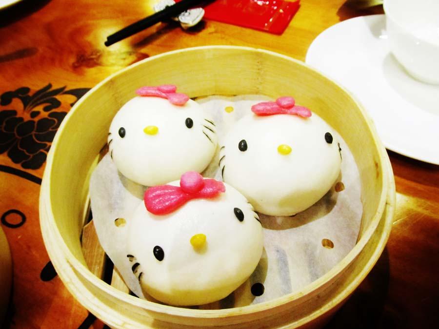 This Restaurant Serves Hello Kitty Dim Sum