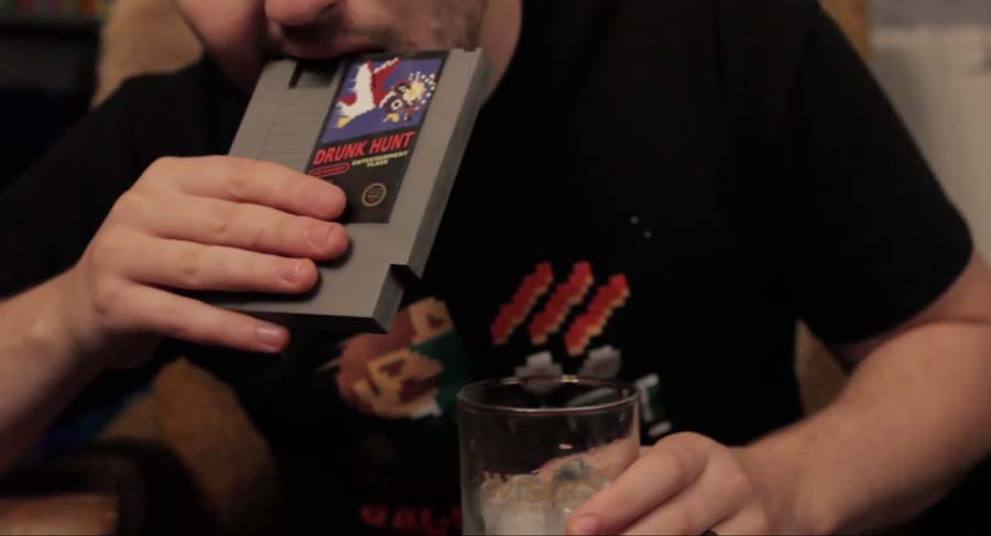 Retro-Game-Flasks