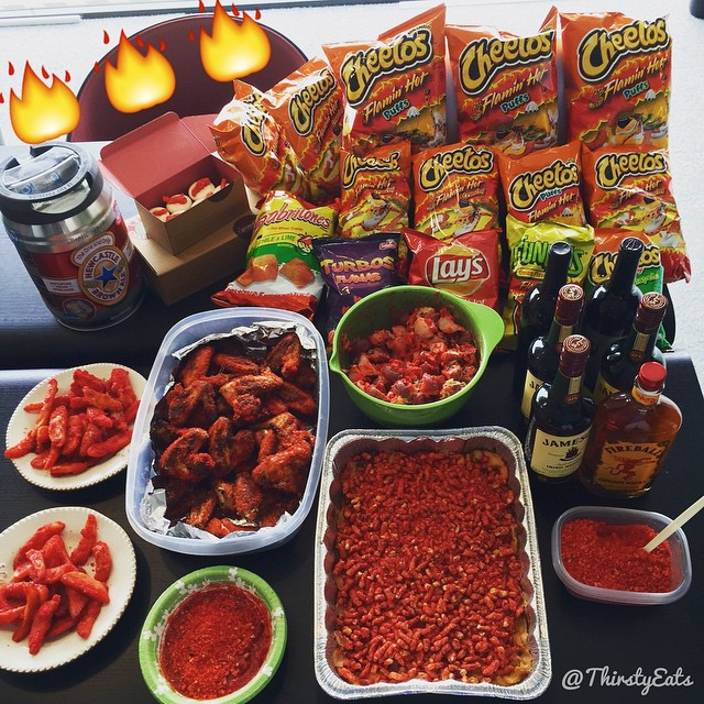 Every Dish At This Party Was Made With FLAMIN' HOT CHEETOS