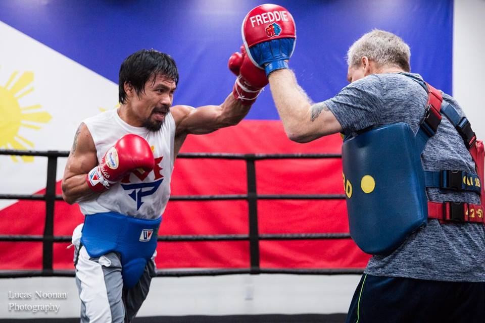 Manny Pacquiao Promised FREE FOOD FOR LIFE If He Beats Floyd Mayweather