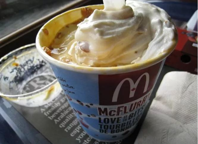 pie mcflurry
