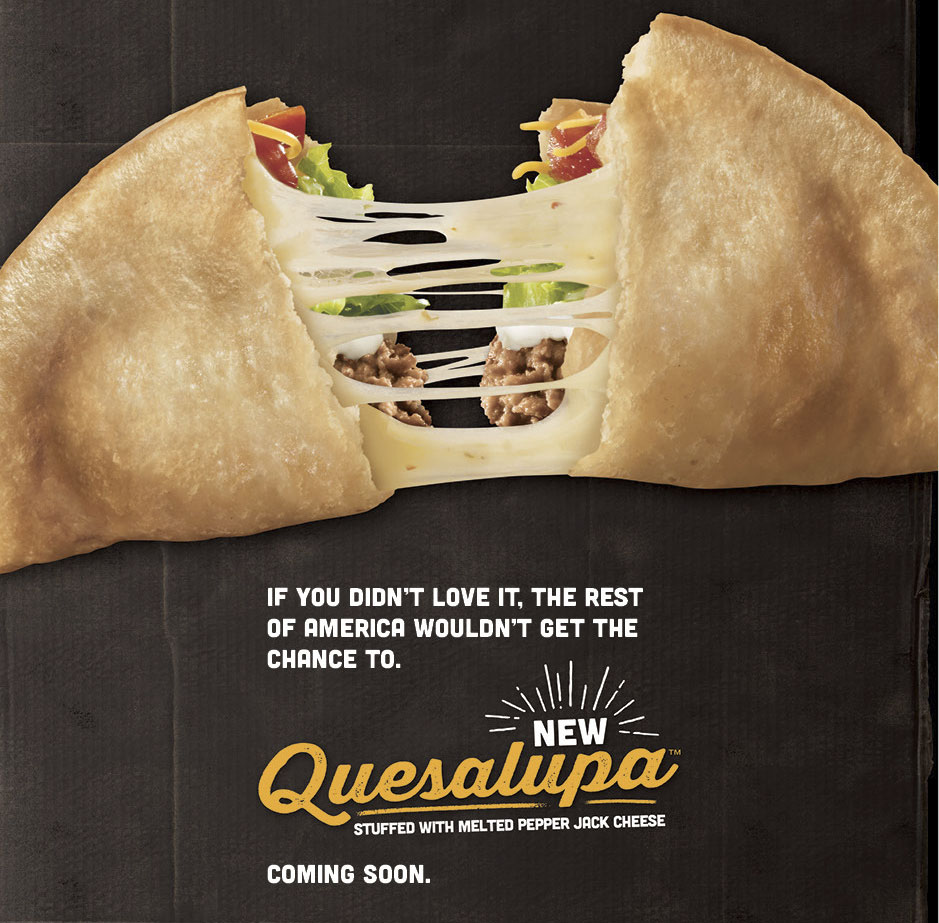 QUESALUPA: Taco Bell's Cheese-Stuffed Shell Is Going To Be Available Everywhere Soon