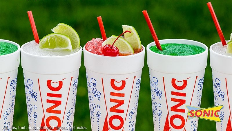 All Drinks At SONIC Half-Priced For Cinco De Mayo