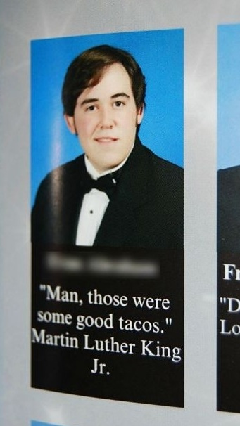 15 Drop-the-Mic Yearbook Quotes Only A Foodbeast Would Write
