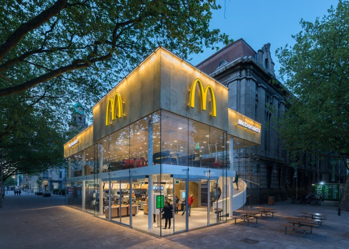 The Fanciest Mcdonald S In The World Just Opened In Rotterdam