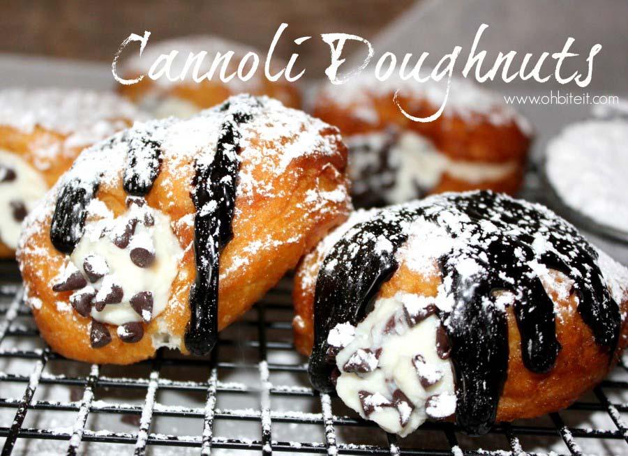Cannoli-Donut