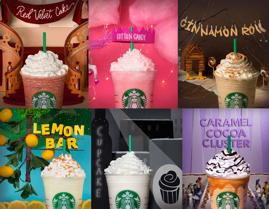 Starbucks Ran Out Of Ideas And Let Fans Create 6 Crazy New Frappuccinos
