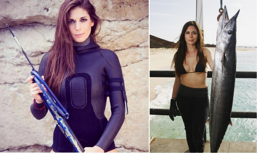 Gorgeous Spearfishing Huntress Reveals The Price Of Following Your Dreams