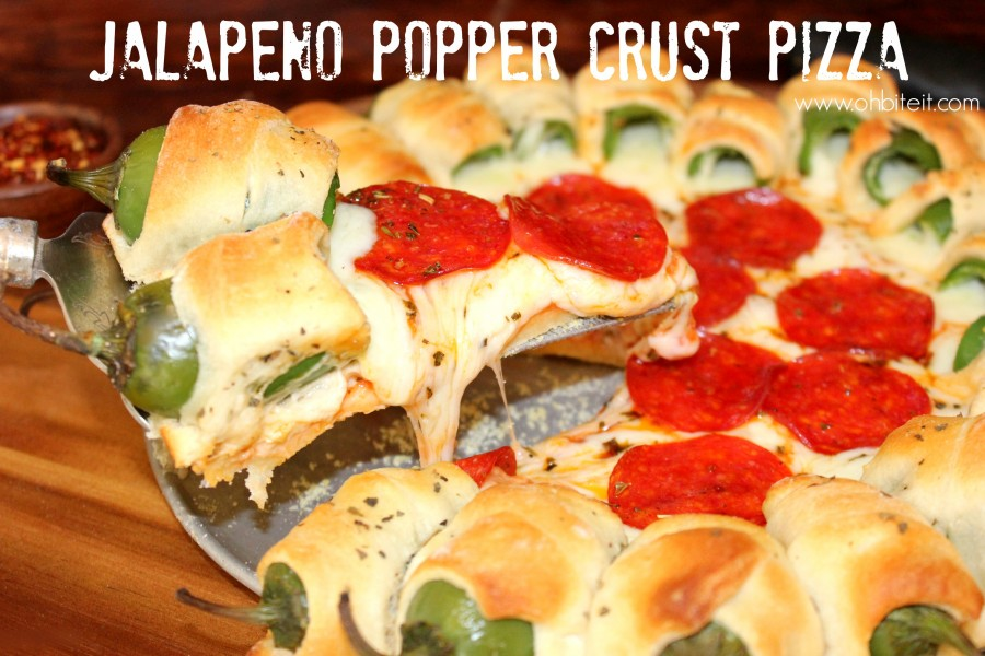 This Pizza Crust Is Made Entirely Of Cheesy Jalape 209 O Poppers
