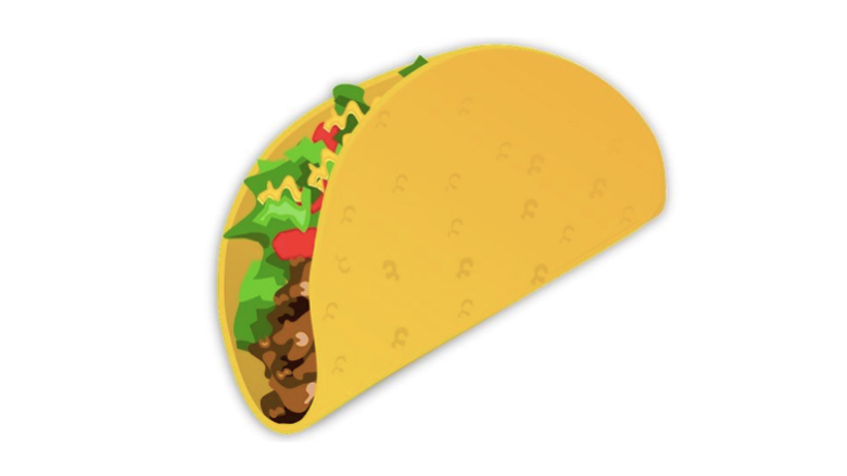 REJOICE: The Taco Emoji Finally Exists