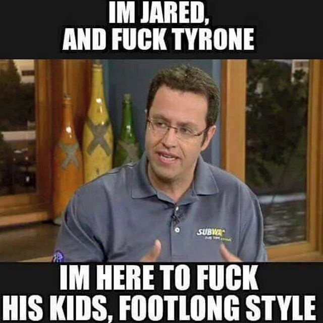 11380995_863663530408177_1865023454_n the internet is already flooded with horrible jared fogle memes,Get Here Meme