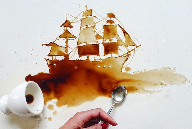 Coffee-Stain-Art