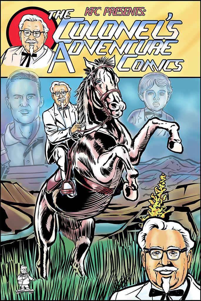 KFC-Colonel-Comic